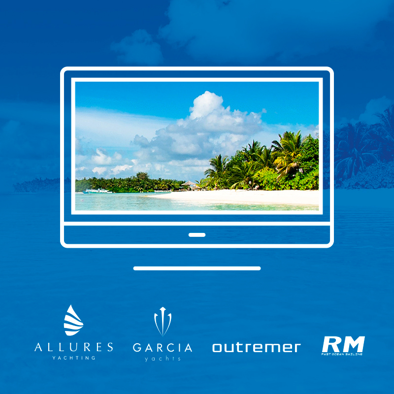Grand Croisière Webinar, the digital meeting place for cruising enthusiasts, offered by Grand Large Yachting
